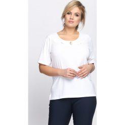 T-shirty damskie: Biały T-shirt Subtype