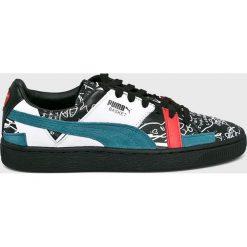 Puma - Buty Basket Graphic. Szare buty sportowe damskie marki Puma, z gumy. W wyprzedaży za 429,90 zł.