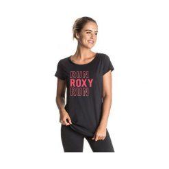 Roxy Koszulka Sportowa Kaliska J True Black M. Białe topy sportowe damskie marki Roxy, l, z nadrukiem, z materiału. W wyprzedaży za 85,00 zł.