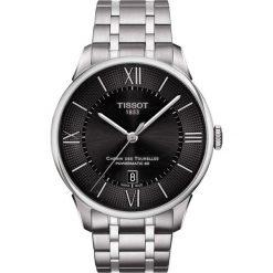 PROMOCJA ZEGAREK TISSOT Chemin Des Tourelles Powermatic 80 T099.407. Czarne zegarki męskie marki TISSOT, ze stali. W wyprzedaży za 2992,00 zł.