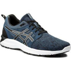 Buty ASICS - Gel-Torrance T7J3N  Dark Blue/Black/White 4990. Niebieskie buty do biegania męskie Asics, na lato, z materiału. W wyprzedaży za 209,00 zł.