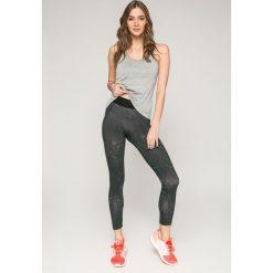 Adidas Performance - Legginsy. Szare legginsy adidas Performance, l, z bawełny. W wyprzedaży za 129,90 zł.