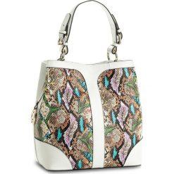 Torebka KAZAR - Victoria 29059-08-99 Biały Kolorowy. Białe torebki klasyczne damskie Kazar, w kolorowe wzory, ze skóry. W wyprzedaży za 579,00 zł.