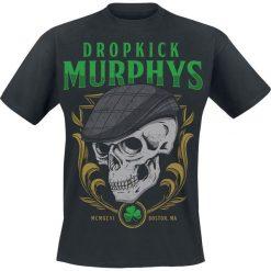 Dropkick Murphys Skelly Skull T-Shirt czarny. Niebieskie t-shirty męskie z nadrukiem marki Reserved, l, z okrągłym kołnierzem. Za 74,90 zł.