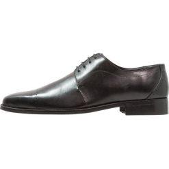 Buty wizytowe męskie: Edwin Wallace Eleganckie buty noir