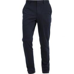 Chinosy męskie: Burton Menswear London Spodnie materiałowe navy