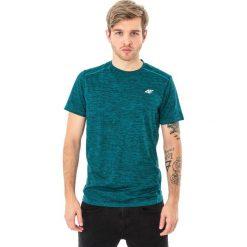 4f Koszulka męska H4L18-TSMF009 zielona r. M. Zielone koszulki sportowe męskie 4f, l. Za 72,90 zł.