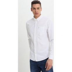 Koszule męskie na spinki: Hollister Co. POPLIN SOLID Koszula white