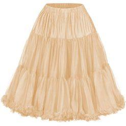 Spódniczki: Banned Lifeforms Petticoat Spódnica beżowy (Champagne)