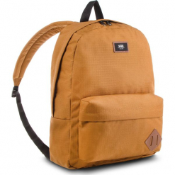 Plecak VANS - Old Skool II Ba VN000ONIRBT Rubber. Brązowe plecaki męskie Vans, z materiału, sportowe. W wyprzedaży za 119,00 zł.