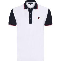 """Koszulki polo: Koszulka polo """"Crown"""" w kolorze białym"""