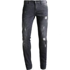 Blend CIRRUS  Jeansy Slim Fit denim dark grey. Brązowe jeansy męskie marki Blend, l, z bawełny, bez kaptura. W wyprzedaży za 167,20 zł.