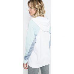 Nike Sportswear - Bluza. Szare bluzy rozpinane damskie Nike Sportswear, l, z bawełny, z kapturem. W wyprzedaży za 179,90 zł.