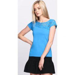 T-shirty damskie: Niebieski T-shirt Good One