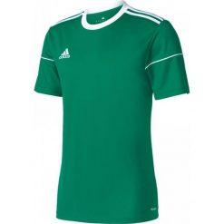Adidas Koszulka męska Squadra 17 zielona r. L. Zielone koszulki do piłki nożnej męskie Adidas, l. Za 45,33 zł.