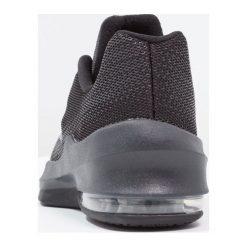 Nike Performance AIR MAX INFURIATE Obuwie do koszykówki black/anthracite/dark grey/wolf grey/metallic dark grey. Czarne buty sportowe męskie Nike Performance, z gumy. W wyprzedaży za 209,25 zł.