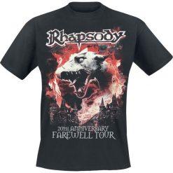 T-shirty męskie z nadrukiem: Rhapsody 20th Anniversary T-Shirt czarny