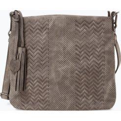 Suri Frey - Damska torba na ramię – Becky, szary. Szare torebki klasyczne damskie SURI FREY, z haftami, z haftem. Za 229,95 zł.