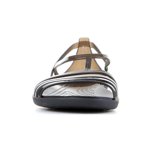 dcfbfc70357b Sandały Crocs Isabella Sandal W 202465-001 - Czarne sandały damskie ...
