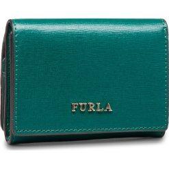 Mały Portfel Damski FURLA - Babylon 979032 P PR83 B30 Cipresso e. Zielone portfele damskie Furla, ze skóry. W wyprzedaży za 349,00 zł.