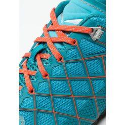 Salewa WILDFIRE VENT Buty wspinaczkowe river blue/clementine. Niebieskie buty trekkingowe damskie Salewa, z gumy, outdoorowe. W wyprzedaży za 439,20 zł.