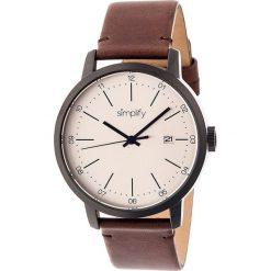 """Zegarki męskie: Zegarek kwarcowy """"the 2500"""" w kolorze brązowo-antracytowo-kremowym"""