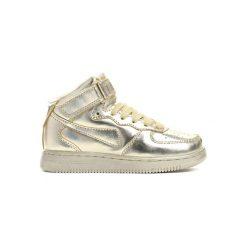 Złote Buty Sportowe Easy Going. Żółte buty sportowe chłopięce marki Born2be, z okrągłym noskiem, na sznurówki. Za 49,99 zł.