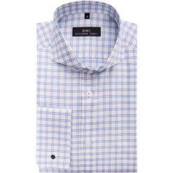Koszula IGNAZIO slim 15-05-08. Szare koszule męskie na spinki marki S.Oliver, l, z bawełny, z włoskim kołnierzykiem, z długim rękawem. Za 199,00 zł.
