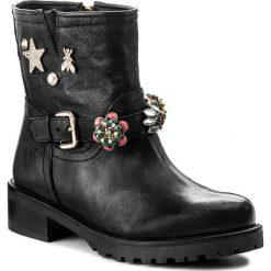 Botki PATRIZIA PEPE - 2V7249/A1GV-K103 Nero. Czarne buty zimowe damskie marki Patrizia Pepe, ze skóry. W wyprzedaży za 859,00 zł.