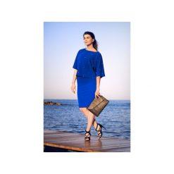 NIEBIESKA SPÓDNICA OŁÓWKOWA BASIC. Niebieskie spódnice wieczorowe Bien fashion, xs, z gumy, midi, dopasowane. Za 69,00 zł.