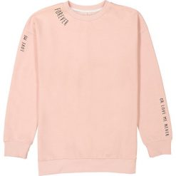 Bluza oversize z nadrukiem 10-16 lat. Czerwone bluzy dziewczęce rozpinane La Redoute Collections, z nadrukiem, z bawełny, z długim rękawem, długie. Za 88,16 zł.