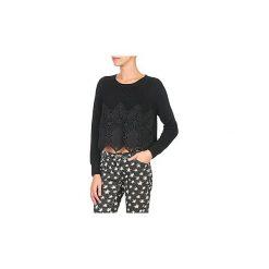 Swetry Moony Mood  DIGUIE. Czarne swetry klasyczne damskie Moony Mood, l. Za 103,20 zł.
