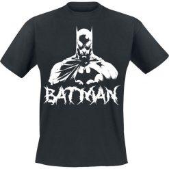 Batman Bat Metal T-Shirt czarny. Czarne t-shirty męskie z nadrukiem marki Batman, xxl, z okrągłym kołnierzem. Za 62,90 zł.