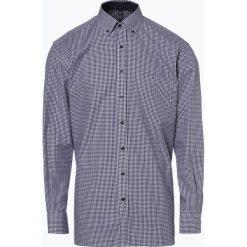 Eterna Comfort Fit - Koszula męska niewymagająca prasowania, niebieski. Niebieskie koszule męskie non-iron Eterna Comfort Fit, m, w kratkę, z bawełny, button down. Za 229,95 zł.