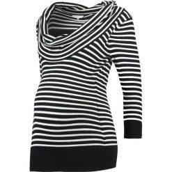 Swetry klasyczne damskie: Anna Field MAMA Sweter black/ white