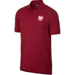 Koszulki polo: Nike Koszulka męska Reprezentacji Polski Polo czerwona r. XL (891482-608)