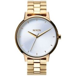 Zegarki damskie: Zegarek damski Gold White Nixon Kensington A0991508