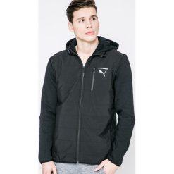 Puma - Kurtka New Evo. Czarne kurtki męskie przejściowe marki Puma, m, z bawełny, z kapturem. W wyprzedaży za 239,90 zł.