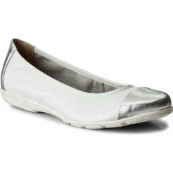 Baleriny CAPRICE - 9-22152-20 White Perl Mul 140. Czarne baleriny damskie marki Caprice, z materiału. W wyprzedaży za 159,00 zł.