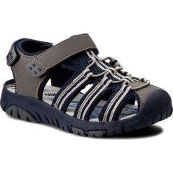 Sandały męskie skórzane: Sandały ACTION BOY – CP69-6009 Szary