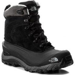 Śniegowce THE NORTH FACE - Chilkat III T939V6WE3 Tnf Black/Dark Gull Grey. Czarne śniegowce męskie The North Face, na zimę, z gumy. W wyprzedaży za 319,00 zł.