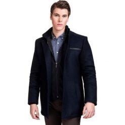 Kurtka CORRADO KUGS000070. Czarne kurtki męskie marki Giacomo Conti, m, z bawełny, z klasycznym kołnierzykiem. Za 899,00 zł.