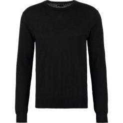 Tiger of Sweden MATIAS  Sweter black. Brązowe swetry klasyczne męskie marki Tiger of Sweden, m, z wełny. Za 459,00 zł.