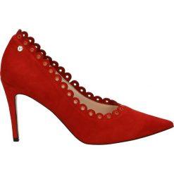 Buty ślubne damskie: Czółenka - 0016-8 CA ROS