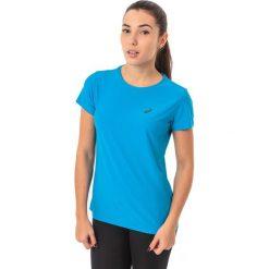 Asics Koszulka damska SS Top Asics Diva Blue r. M (1341048012). Niebieskie topy sportowe damskie Asics, m. Za 45,24 zł.