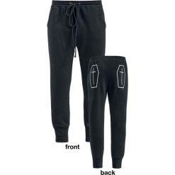 Banned Alternative Coffin Jogger Spodnie dresowe damskie czarny. Czarne spodnie dresowe damskie Banned, xl, z nadrukiem, z dresówki. Za 199,90 zł.