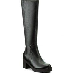 Kozaki KABAŁA - 251-529-516 Czarny. Czarne buty zimowe damskie marki Kabała, ze skóry, na obcasie. W wyprzedaży za 359,00 zł.