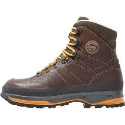 Lowa TREKKER Buty trekkingowe dunkelbraun/senf. Brązowe buty trekkingowe męskie Lowa, z gumy, outdoorowe. W wyprzedaży za 863,20 zł.