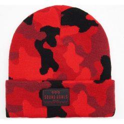 Ciepła czapka - Czerwony. Czerwone czapki damskie marki Cropp. Za 29,99 zł.