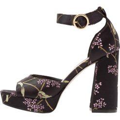 Sandały damskie: Miss Selfridge CRUSH Sandały na obcasie black